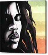 Bob Marley Portrait Canvas Print