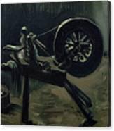 Bobbin Winder Canvas Print