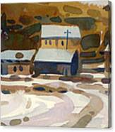 Bodie California 1979 Canvas Print