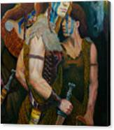 Boudica Canvas Print