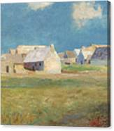 Breton Village Canvas Print