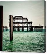 Brighton West Pier Canvas Print