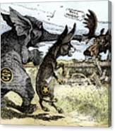 Bull Moose Campaign, 1912 Canvas Print
