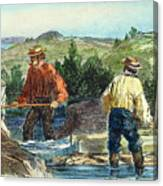 California Gold Rush Canvas Print