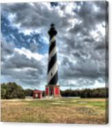Cape Hatteras Lighthouse, Buxton, North Carolina Canvas Print
