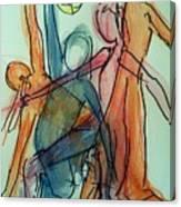 Captured Movements Canvas Print