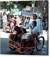 Carnival Cart Canvas Print