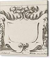 Cartouche Canvas Print