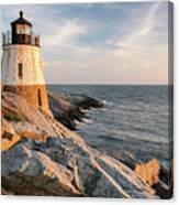 Castle Hill Lighthouse, Newport, Rhode Island Canvas Print