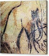 Cave Art: Mammoth Canvas Print