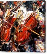 2 Cellos Canvas Print