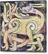 Celtic Layers Canvas Print