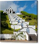 Chapel In Azores Islands Canvas Print