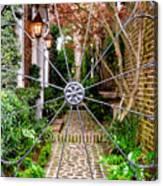 Charleston Gated Garden Canvas Print