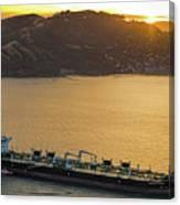 Chevron Pegasus Voyager Oil Tanker Canvas Print