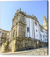 Church Of Clerigos Porto Canvas Print