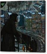 City Of Workers Canvas Print