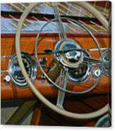 Classic Runabout Canvas Print