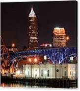 Cleveland Panorama Canvas Print