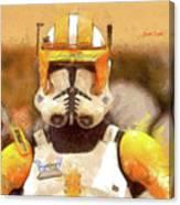 Clone Trooper Commander Canvas Print