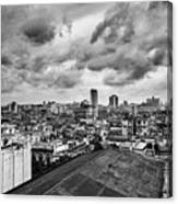 Clouds Over Havana Canvas Print