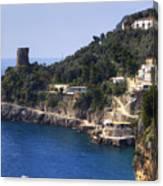 Furore - Coast Of Amalfi Canvas Print
