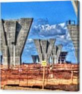 construction WHSD Canvas Print