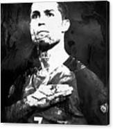 Cristiano Ronaldo Oki Canvas Print