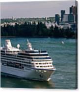 Cruise Ship 4 Canvas Print