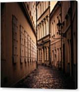 Dark Street Canvas Print