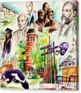 Dear Ol Morris Brown Canvas Print