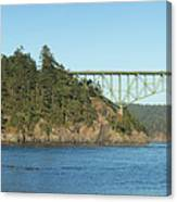Deception Pass Canvas Print