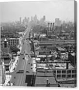 Detroit 1942 Canvas Print