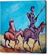 Don Quixote  Canvas Print