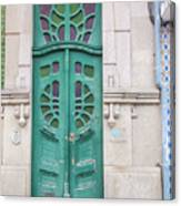 Doors Of Portugal  Canvas Print
