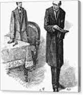 Doyle: Sherlock Holmes Canvas Print