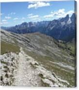 Durrenstein, Dolomites, Italy Canvas Print