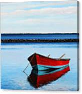Eastpoint Red Canvas Print