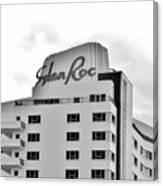 Eden Roc Hotel Canvas Print