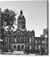 Elkhart County Courthouse - Goshen, Indiana Canvas Print