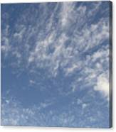Evening Summer Sky Canvas Print