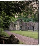 Fairafar Mill, Cramond, Edinburgh Canvas Print