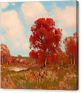 Fall Landscape Canvas Print