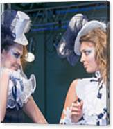 Fashion Show Catwalk Canvas Print
