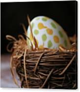 Fashionable Egg Canvas Print