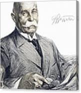 Ferdinand Von Zeppelin Canvas Print