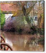 Fiddleford Mill - England Canvas Print