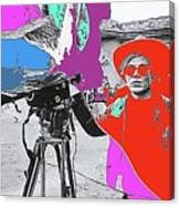 Film Homage Andy Warhol Lonesome Cowboys Old Tucson Arizona 1968-2013 Canvas Print