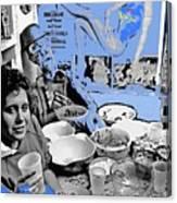 Film Homage Esther Williams Skirts Ahoy 1952 St. Patrick's Day Party Tucson Arizona 1985-2012 Canvas Print