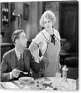 Film Still: Eating & Drinking Canvas Print